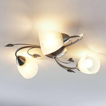 Lindby Yannie plafoniera LED a 3 luci
