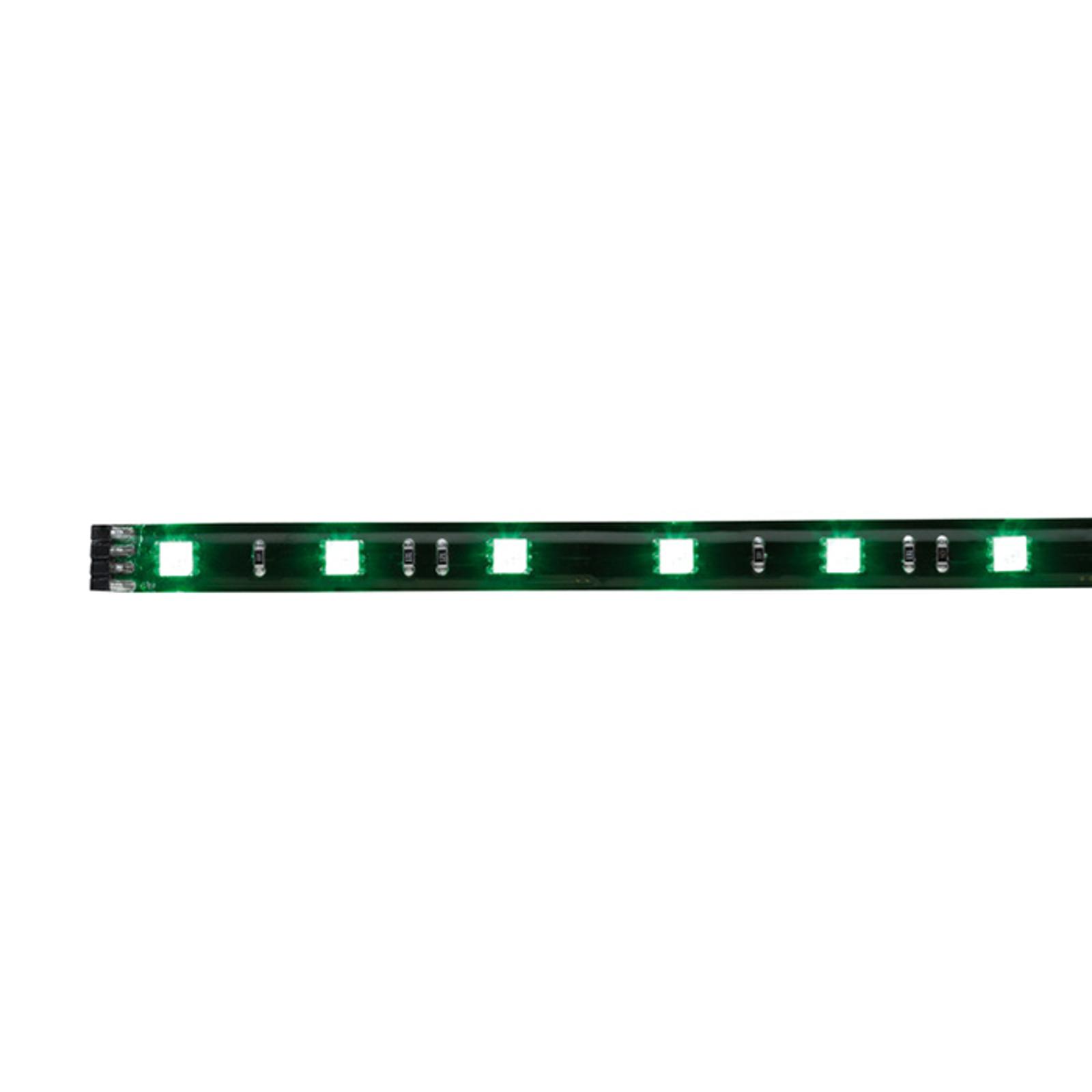 Zwarte led-strip met RGB-kleurenwisseling