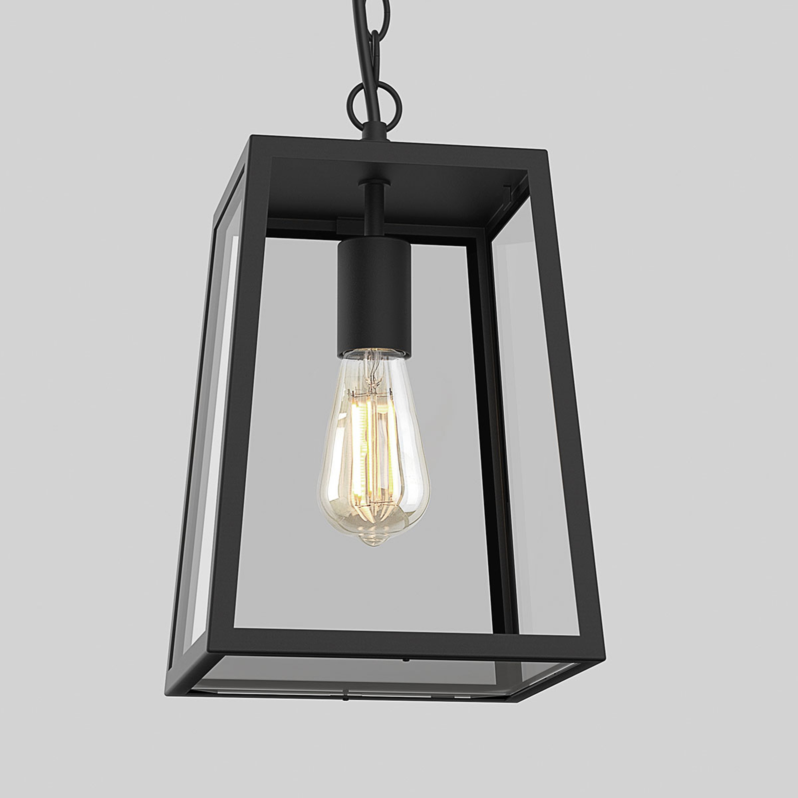 Astro Calvi - lámpara colgante exterior, negro