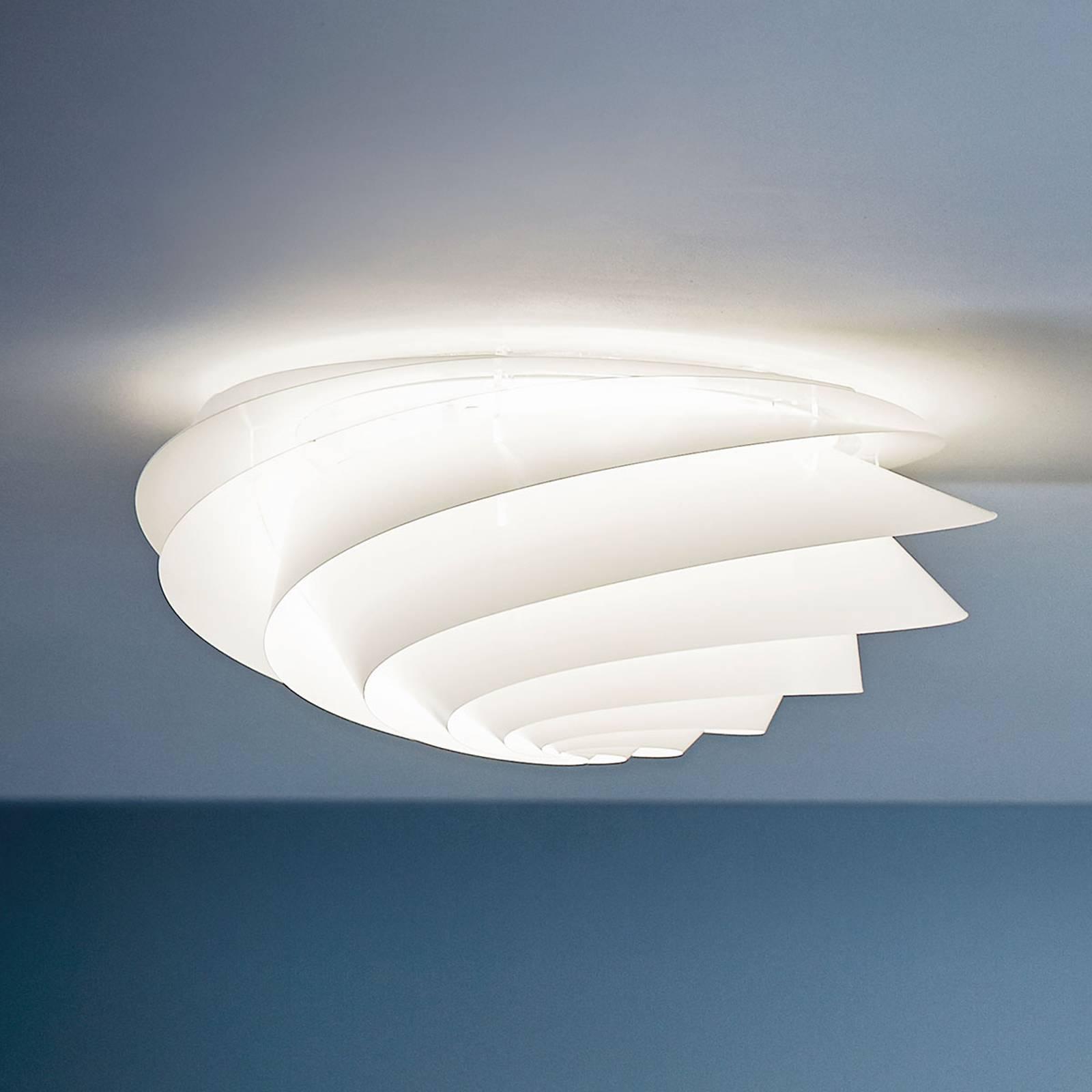 LE KLINT Swirl Medium - applique LED blanche