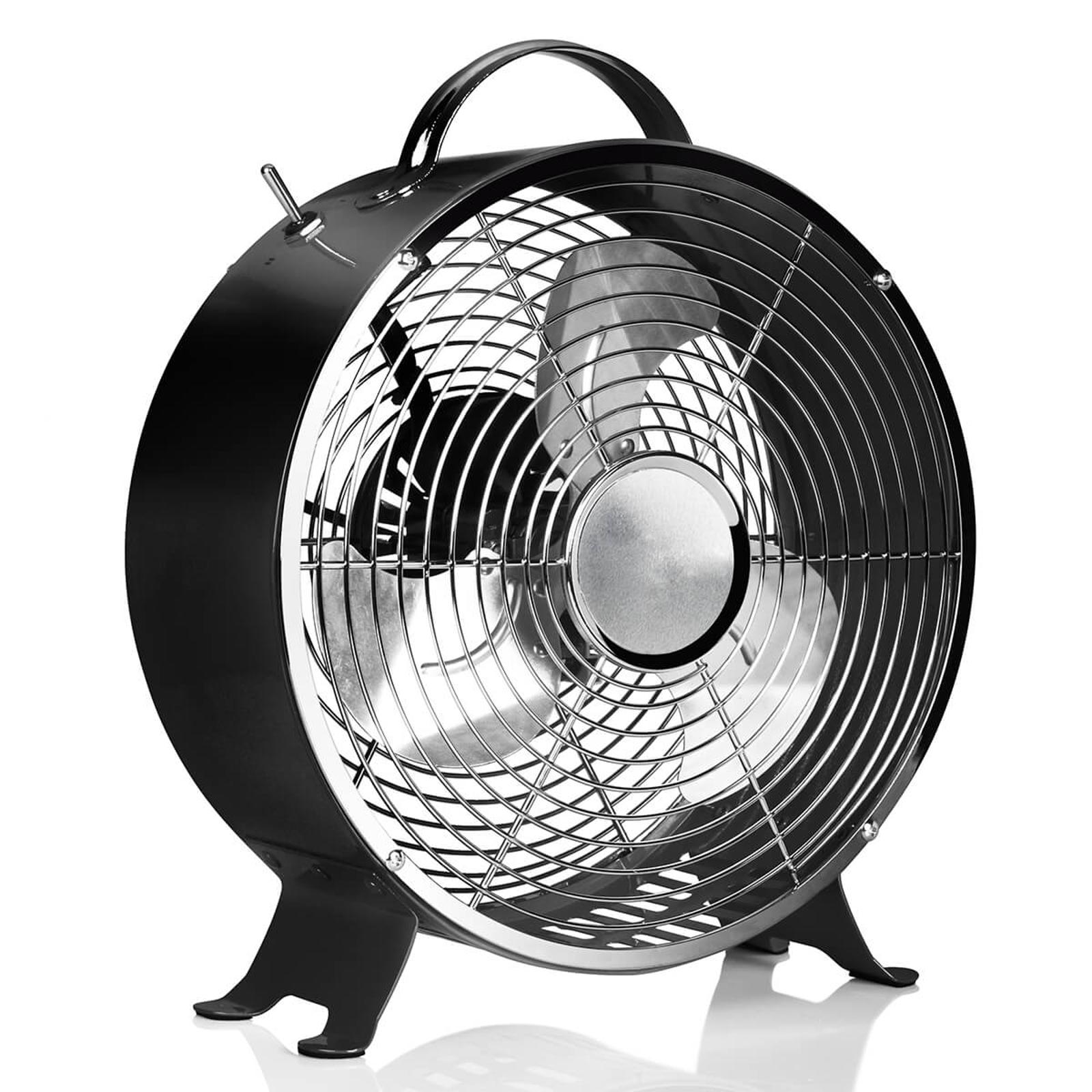Vintage tafelventilator VE5966 zwart