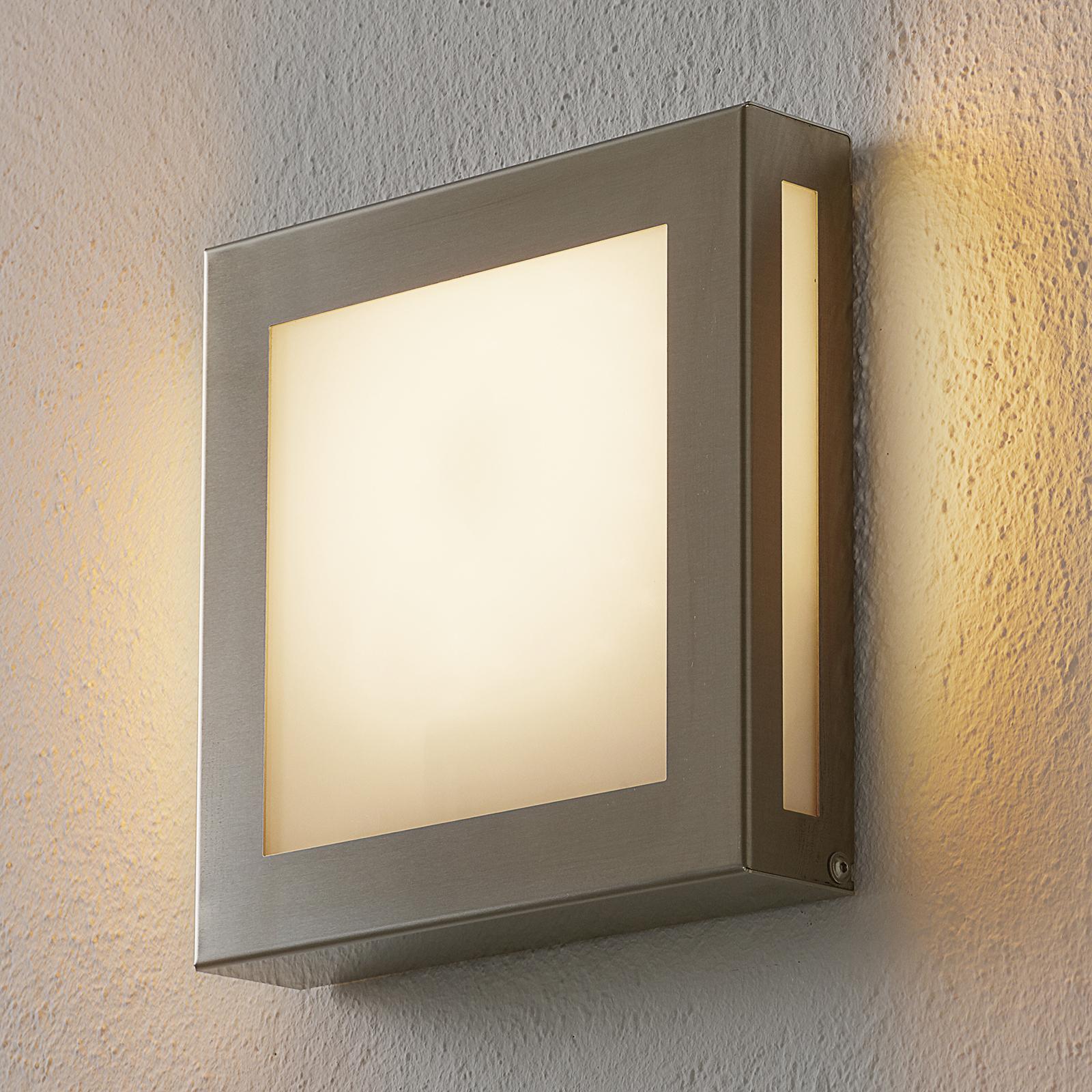 Sensor-LED-utelampe Aqua Legendo Mini, rustfr.stål