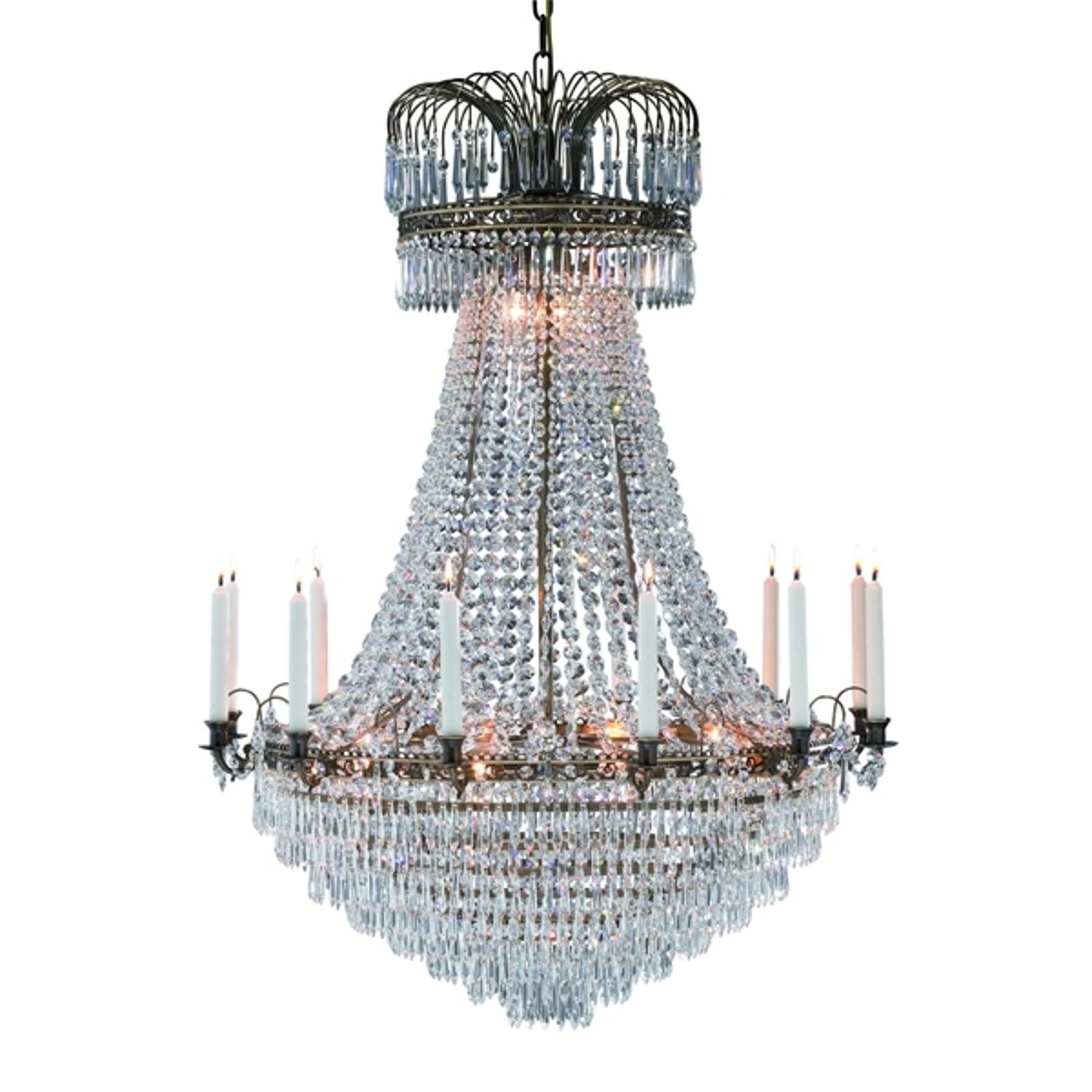 Präktig ljus-lampkrona Lacko 92 cm