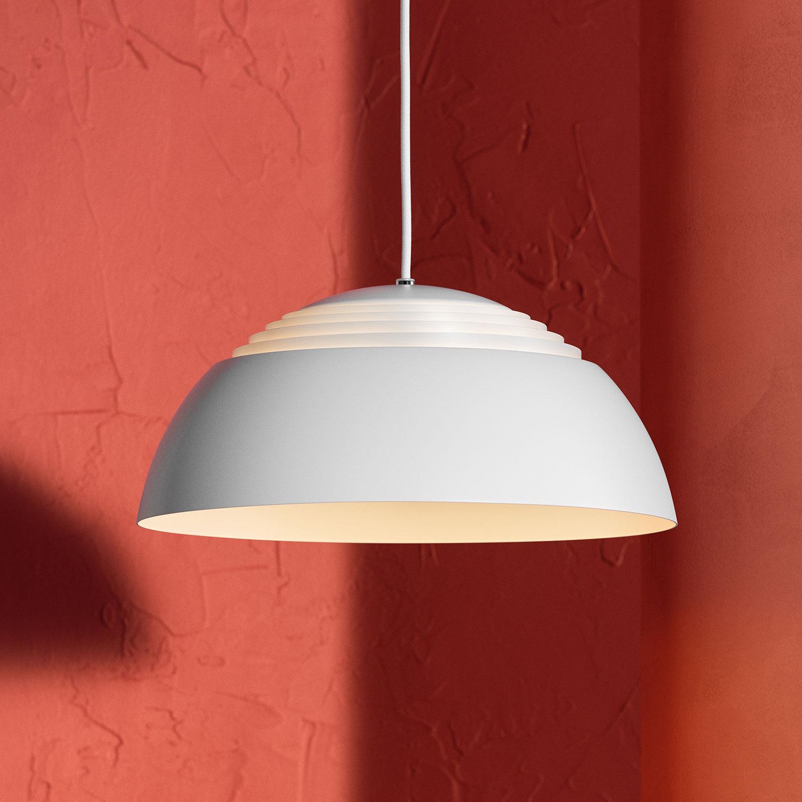 Louis Poulsen AJ Royal LED-hengelampe 25cm hvit