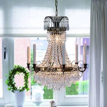 Okázalý svíčkový lustr Lacko