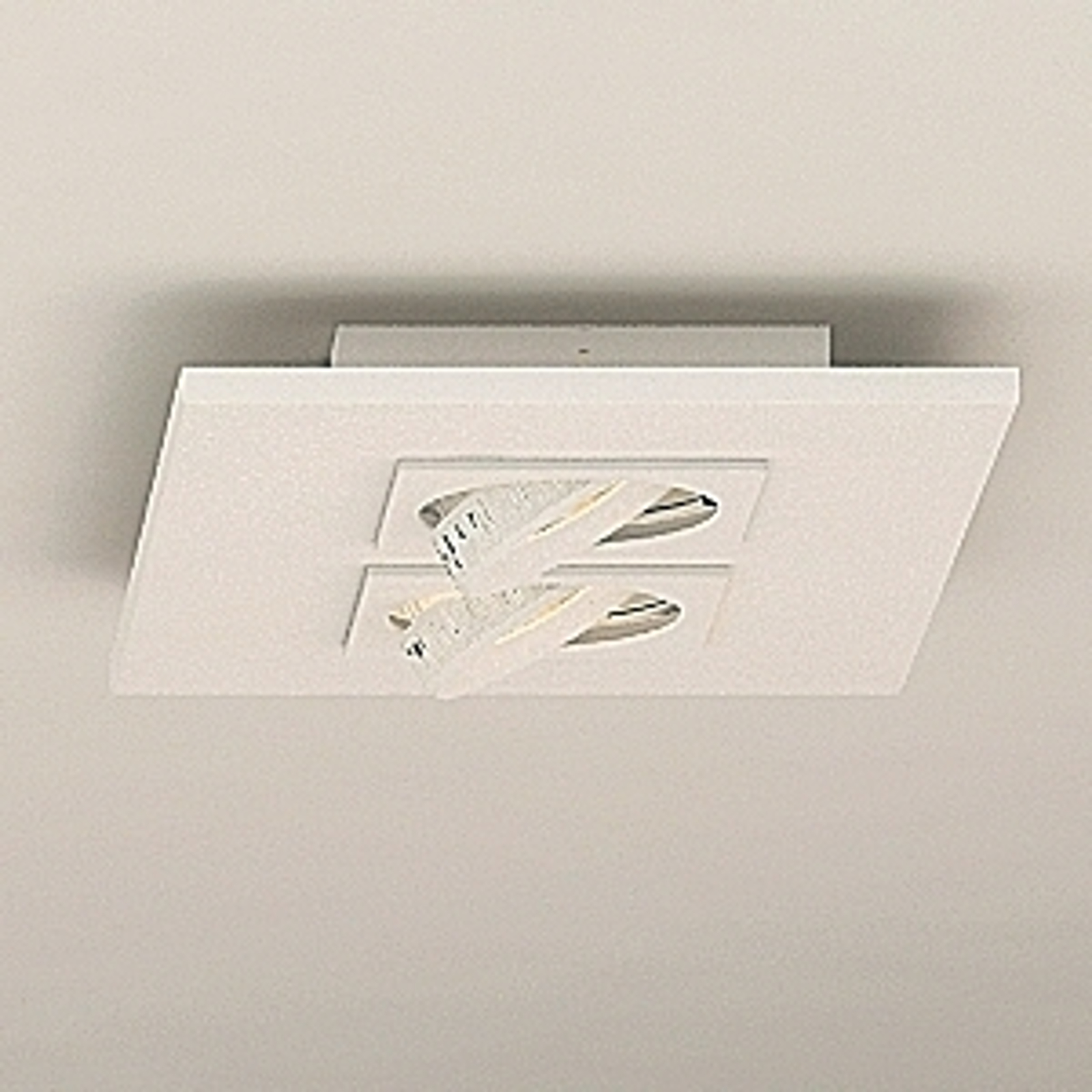 LED-taklampe Marc 2 lys, svingbar