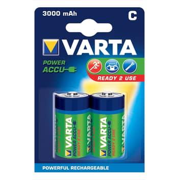 Varta C Baby batteri 56714 1,2V 3000 m/Ah 2-pk.