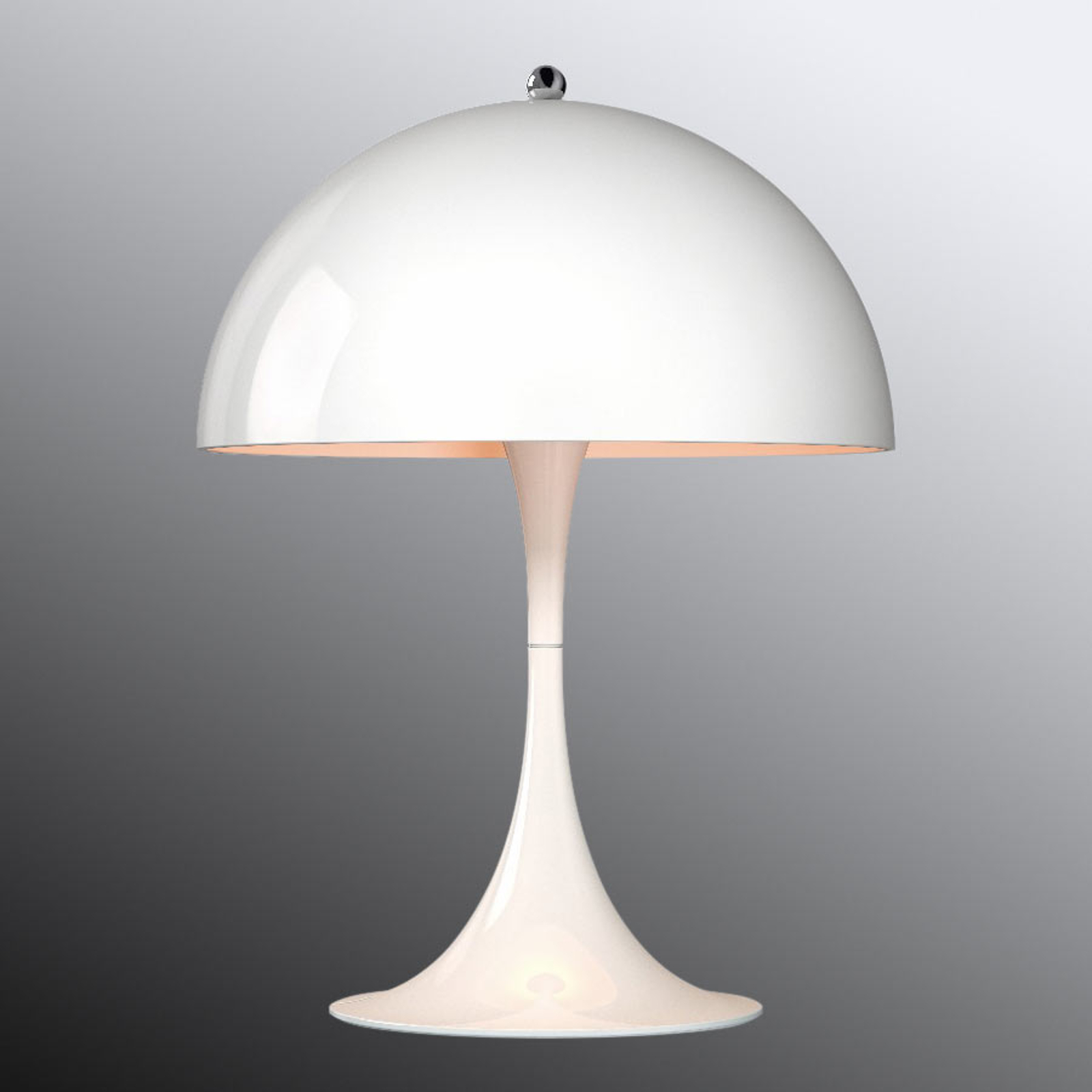 Louis Poulsen Panthella Mini Tischlampe weiß