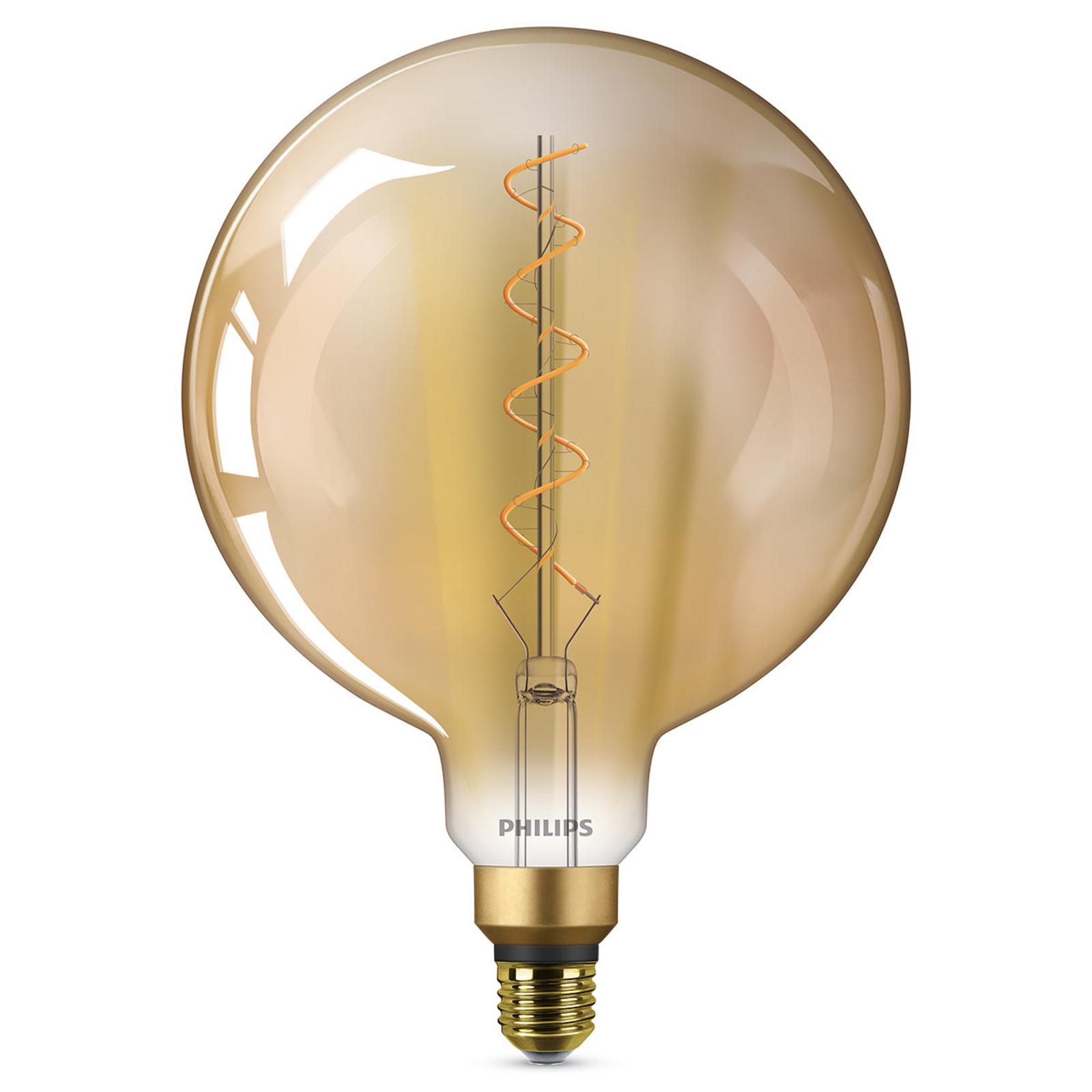 E27 G200 große LED-Lampe Classic Giant 1.800K gold