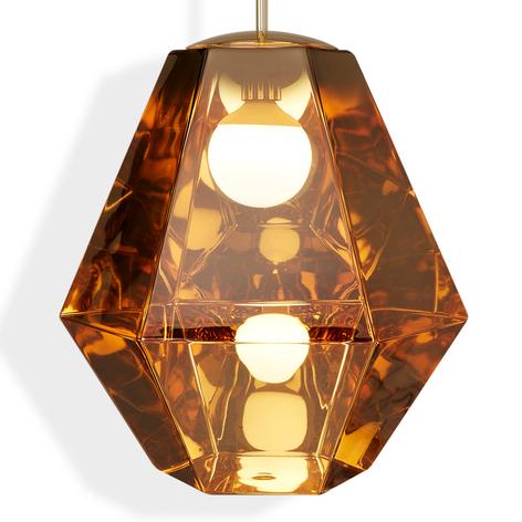 Tom Dixon Cut Tall – závesná lampa, zlato