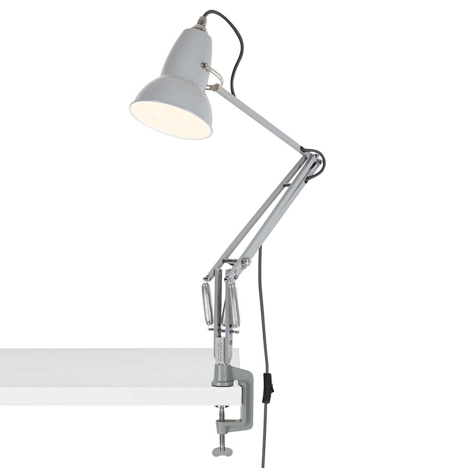 Anglepoise Original 1227 klemme-bordlampe grå