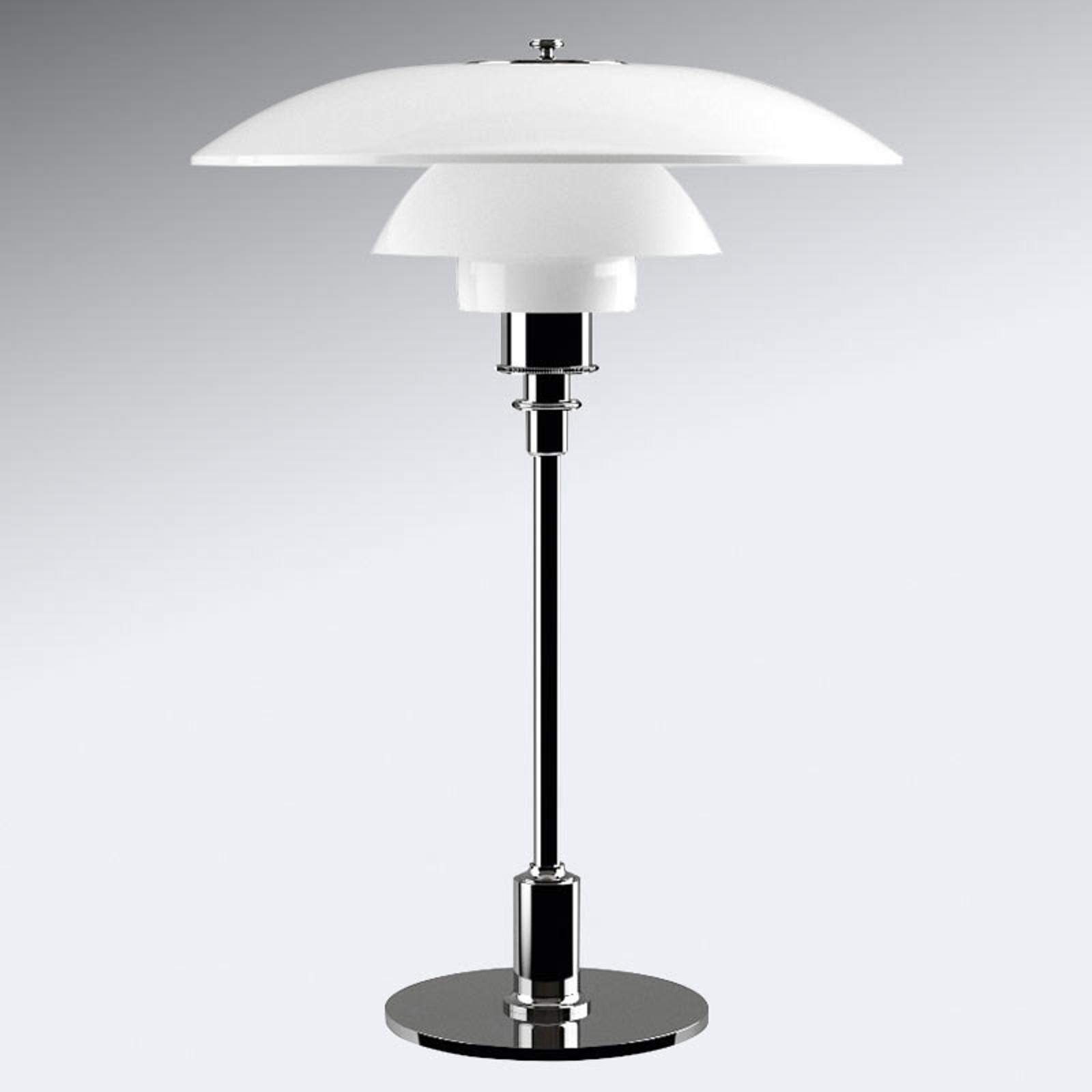 Louis Poulsen PH 3 1/2-2 1/2 Tischlampe chrom