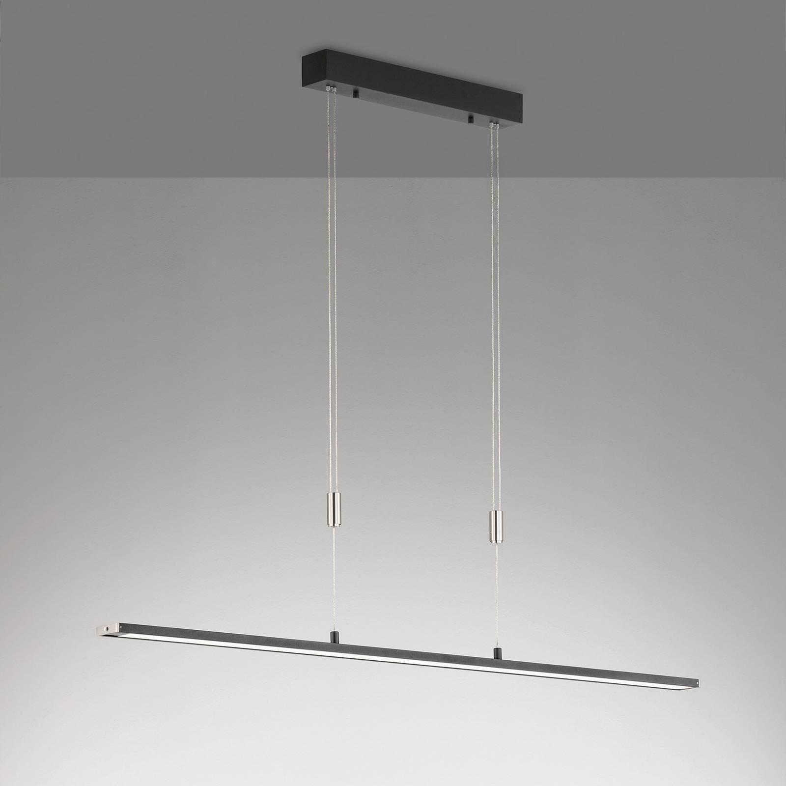 Suspension LED Metz TW CCT, longueur 120cm, noire