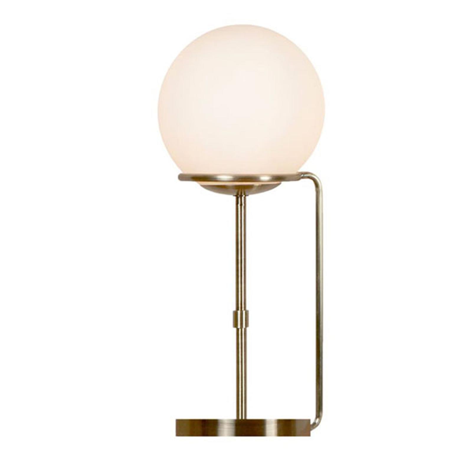 Tischleuchte Sphere mit Glaskugelschirm