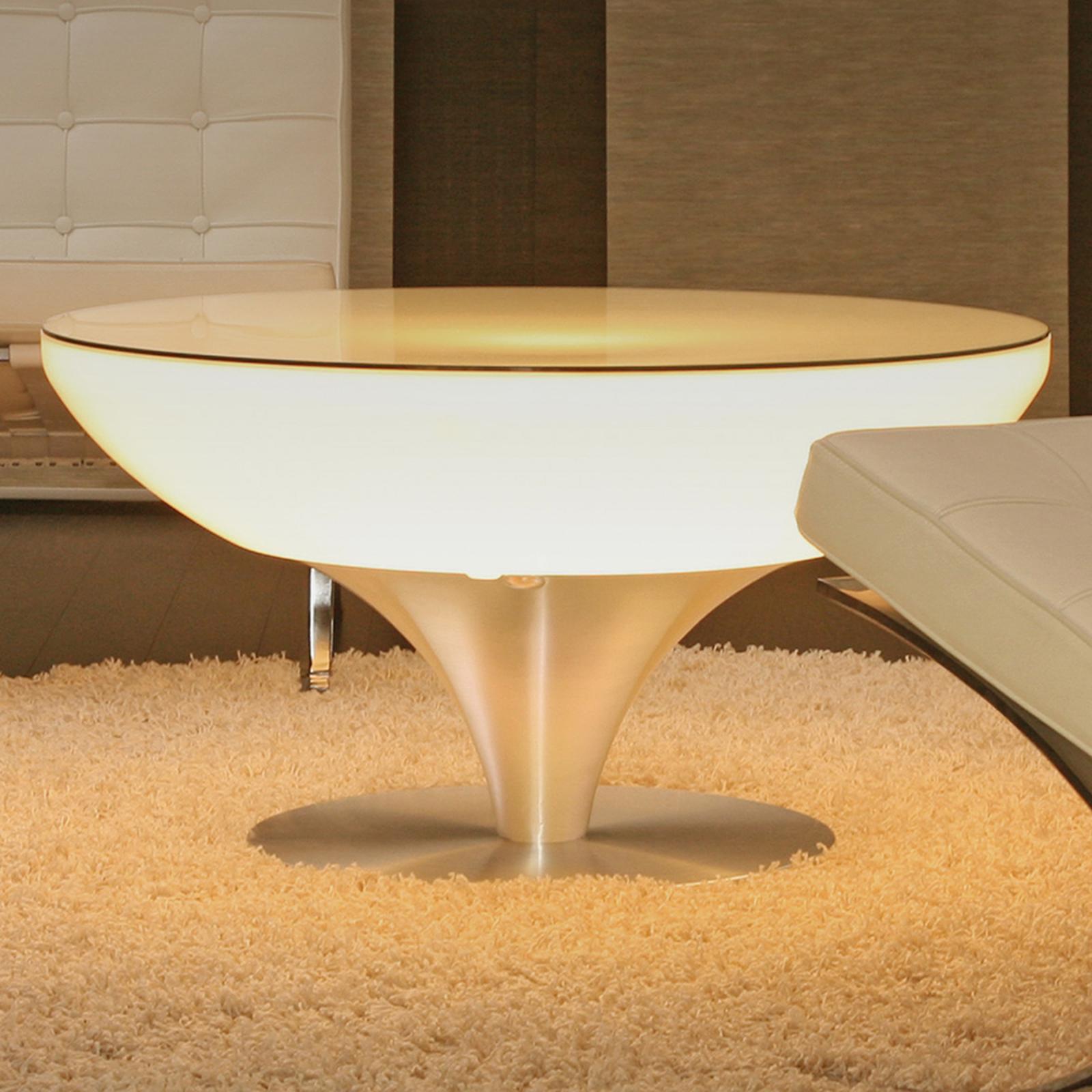 Styrbart bord Lounge LED Pro Accu 45 cm
