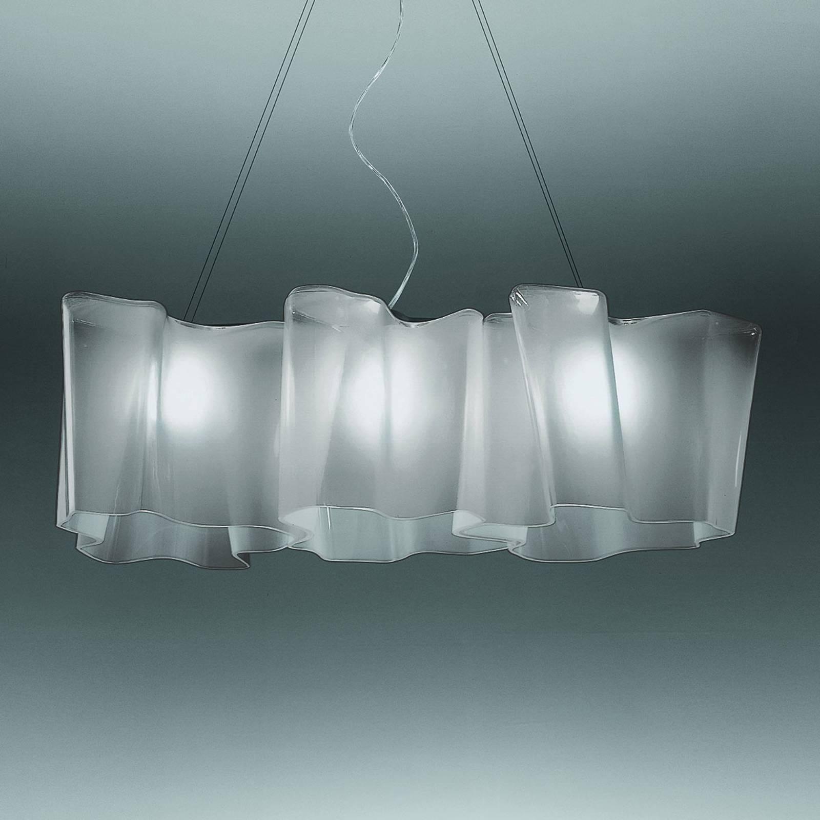 Artemide Logico Hängelampe 3fl Länge 100 cm grau