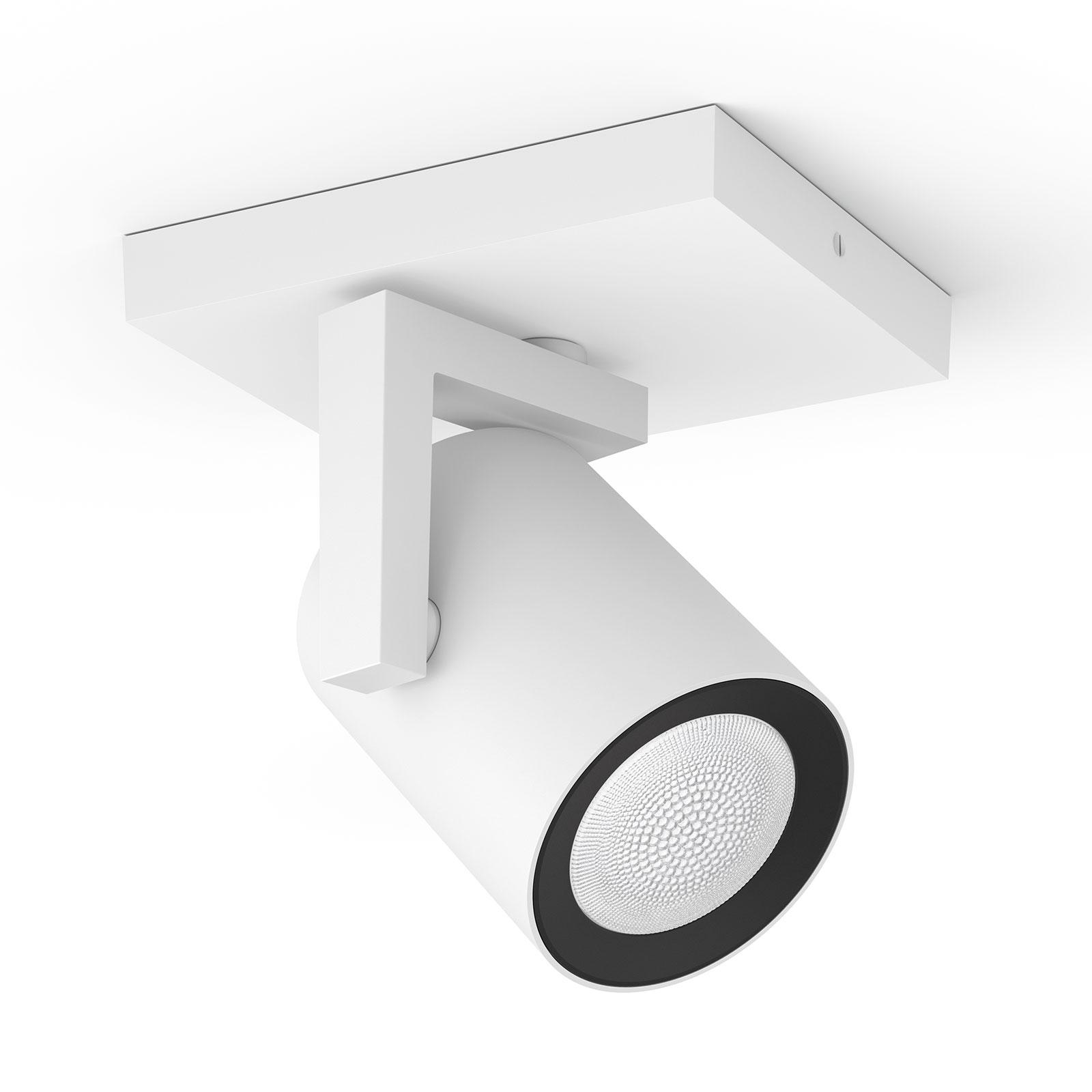 Philips Hue Argenta spot LED à 1 lampe blanc