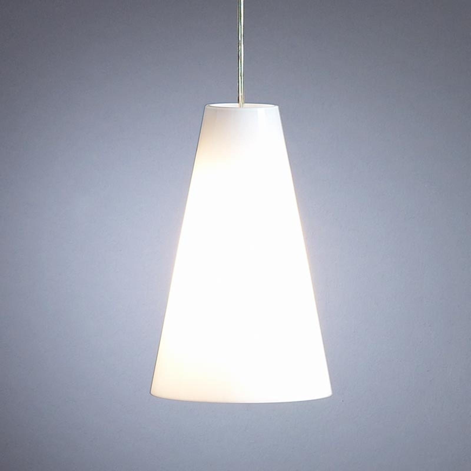 Lampa wisząca Schnepla opalowa