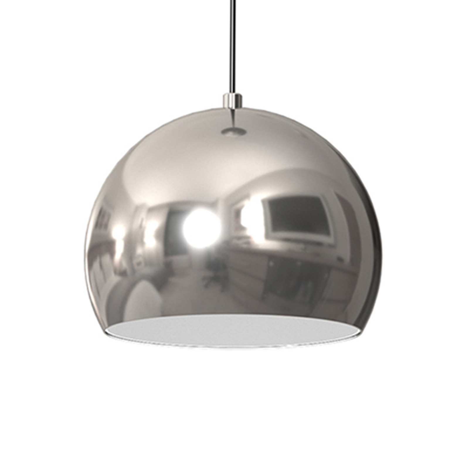 Hanglamp Cool, 1-lamp, chroom