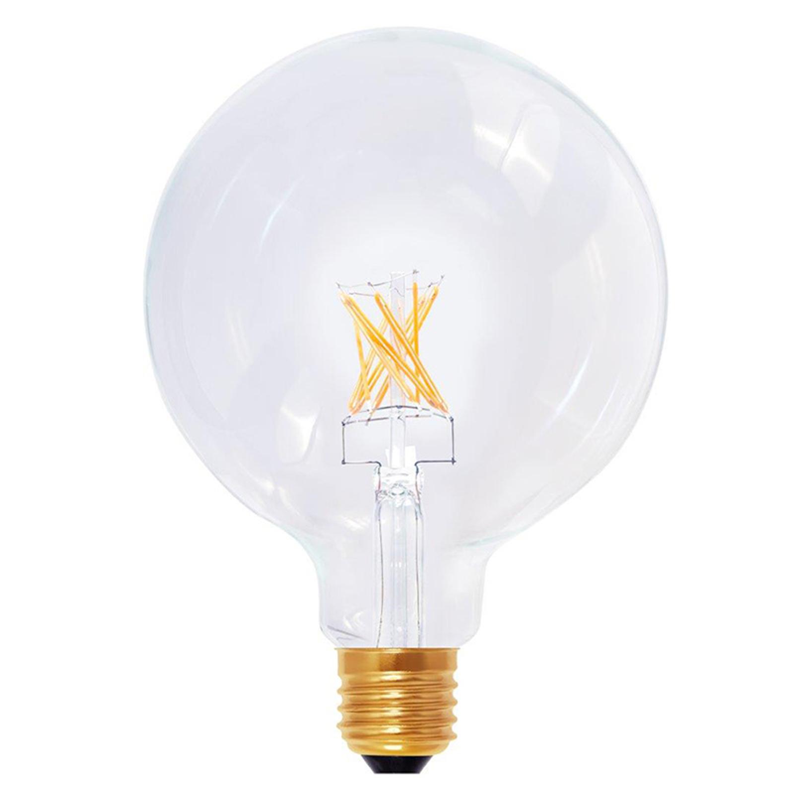 E27 8W 922 LED Globelampe G125 in Kohlefadenoptik