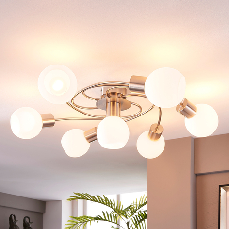 Den harmoniskt gestaltade LED-taklampan Ciala