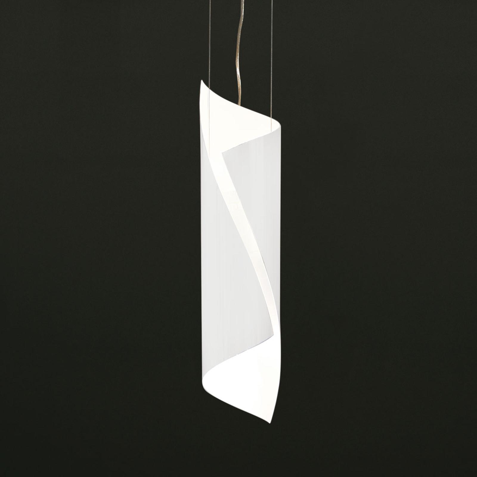 Knikerboker Hué - kleine gedrehte LED-Hängeleuchte