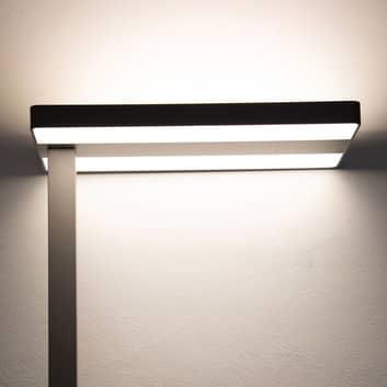 LED stojací lampa MAULjaval se svorkou a stmívačem