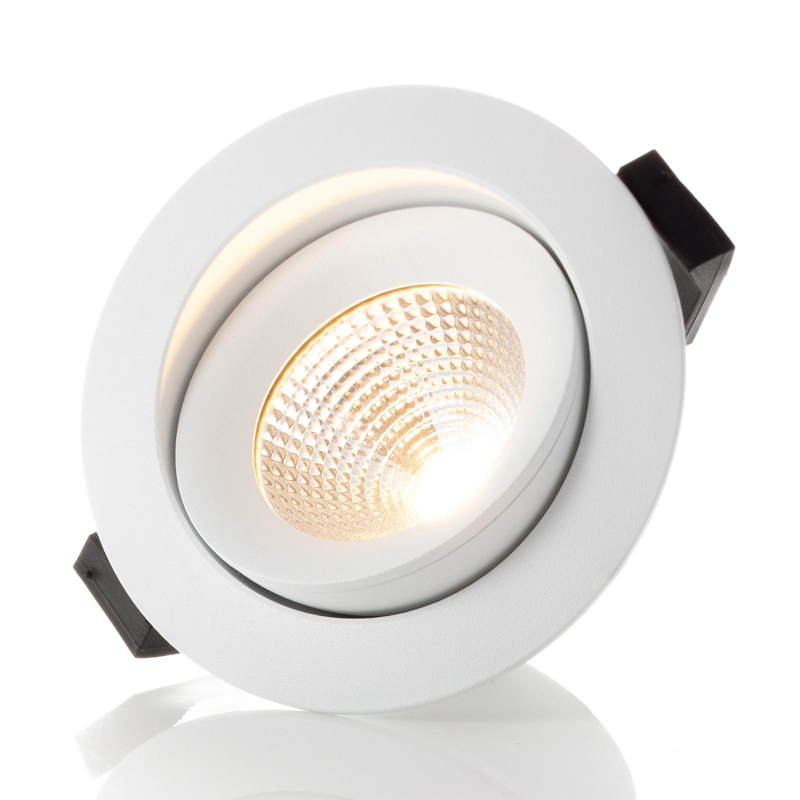 SLC One 360° LED-Einbauleuchte weiß 2.700K