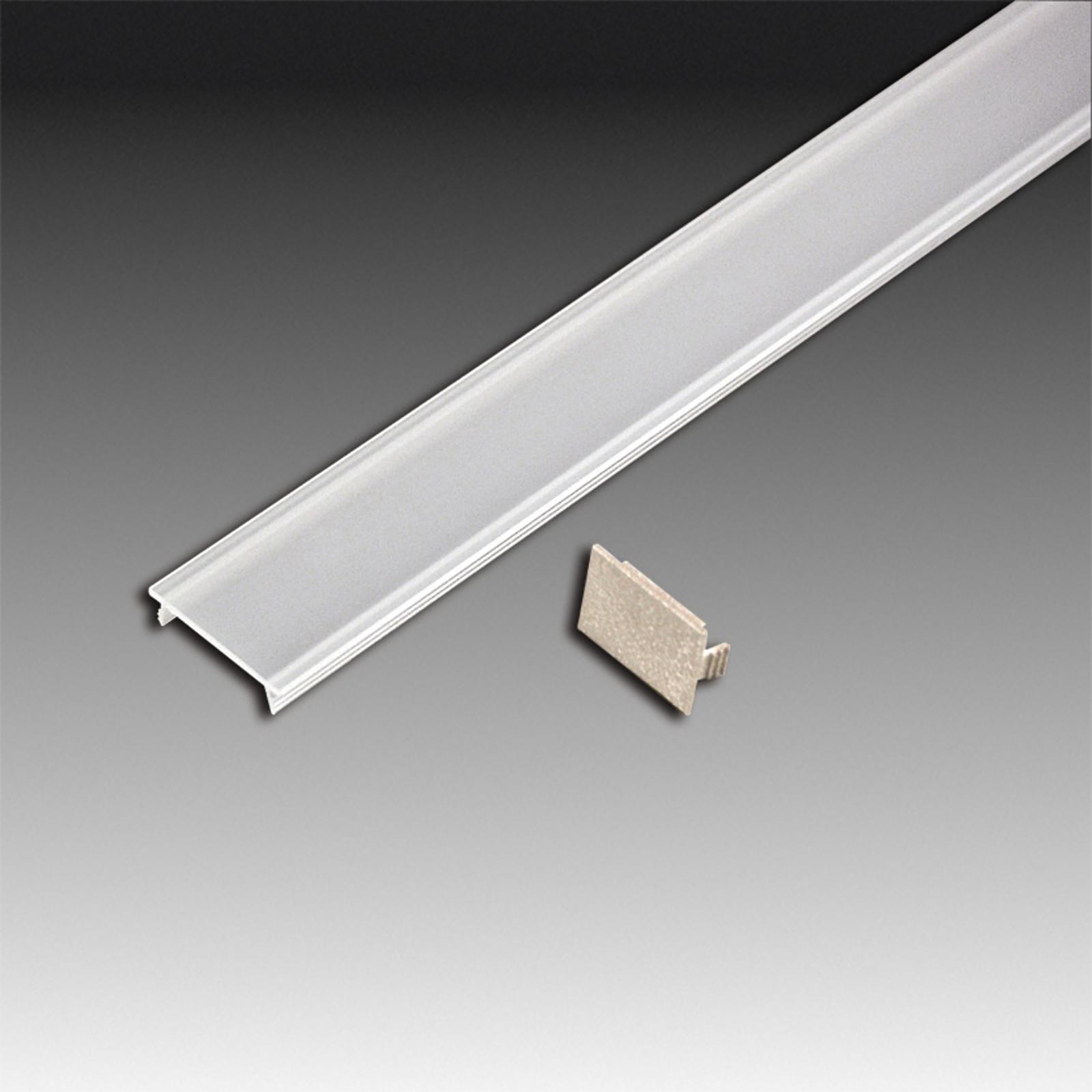 Stirndeckel für Abdeckprofil für LED STICK 2