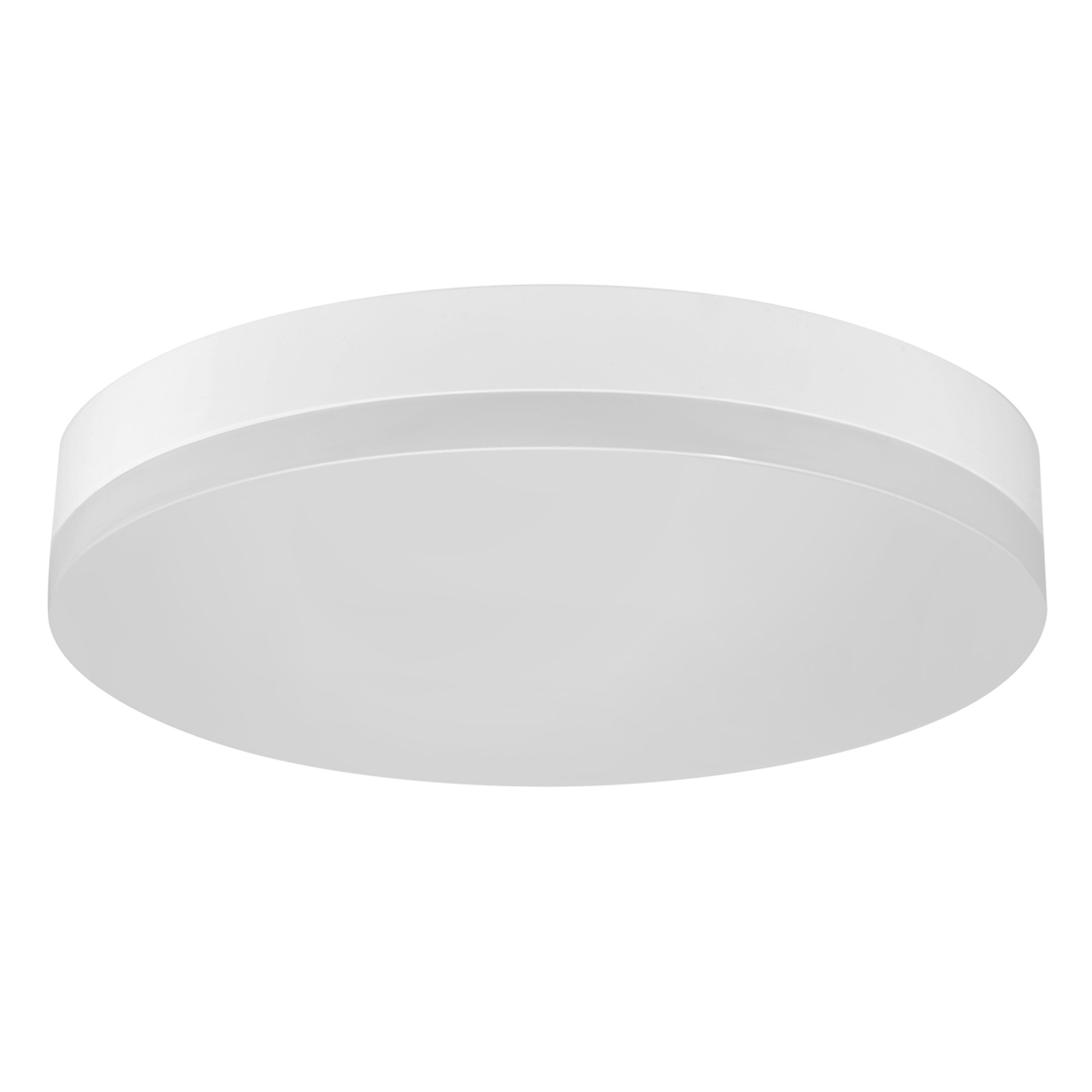 Office Round - LED plafondlamp IP44, warm wit