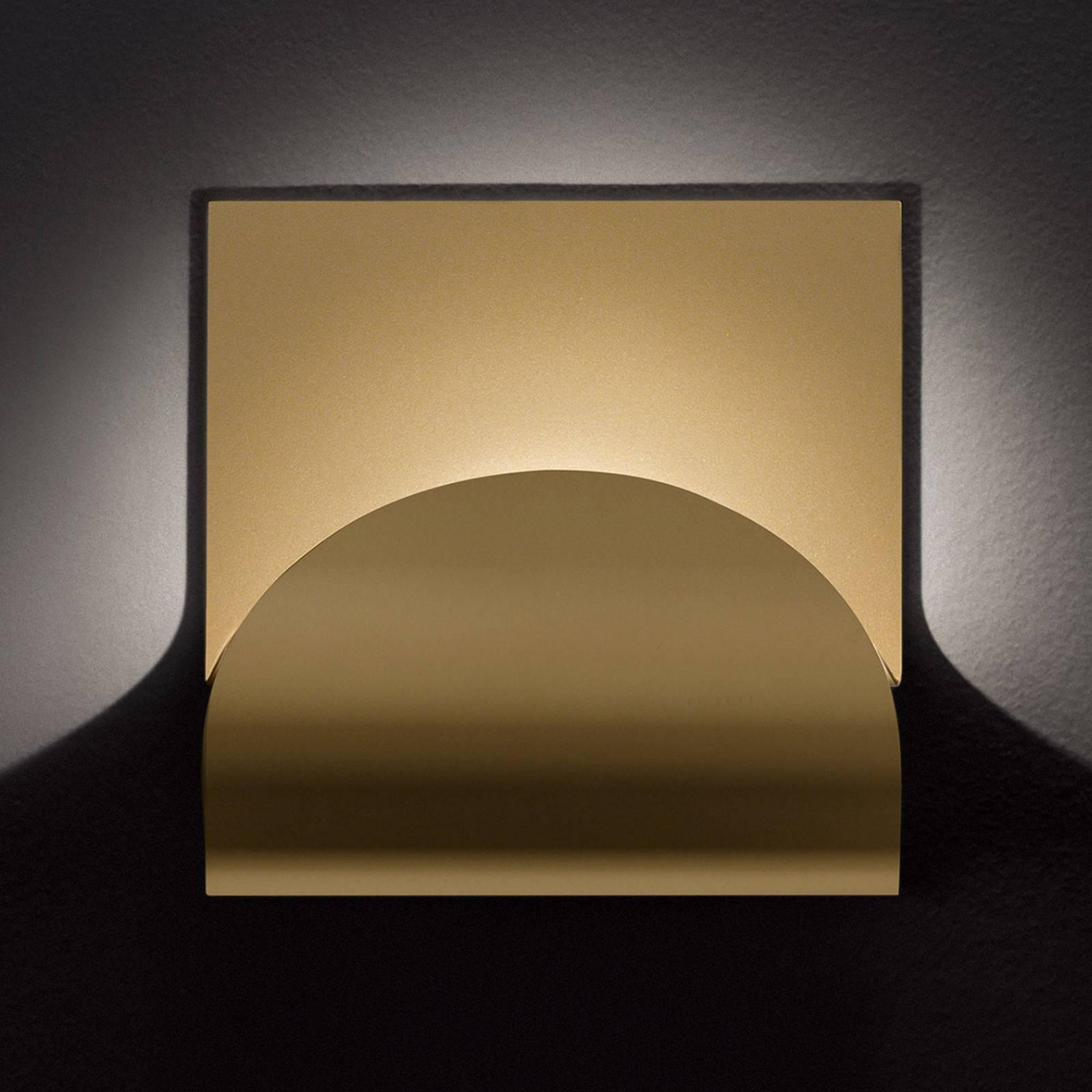 Cini&Nils Incontro LED-Wandleuchte matt gold