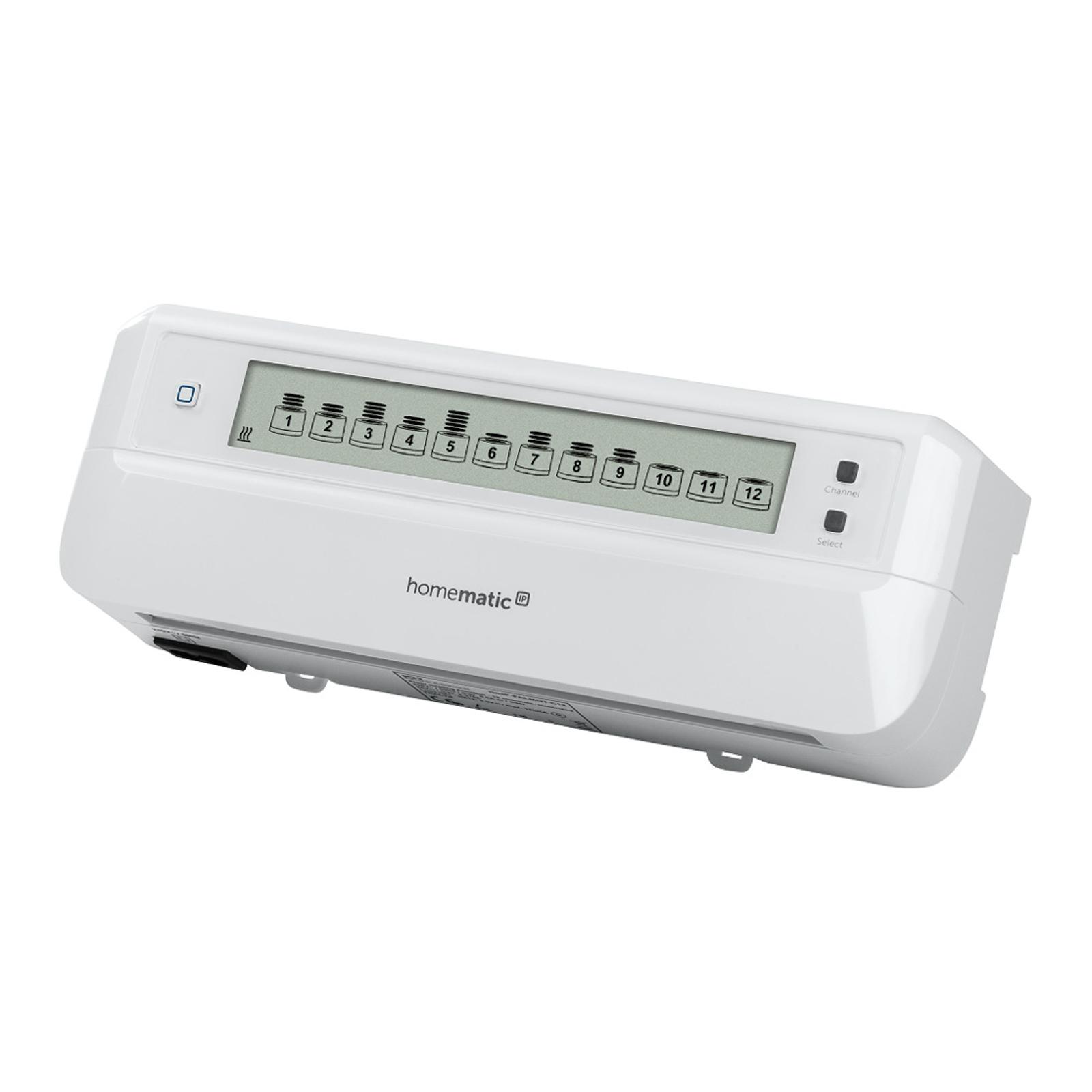 Homematic IP actionneur chauffage sol, 12x, moteur