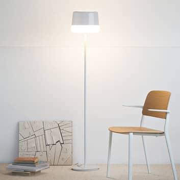 Prandina Gift F10 gulvlampe, hvit