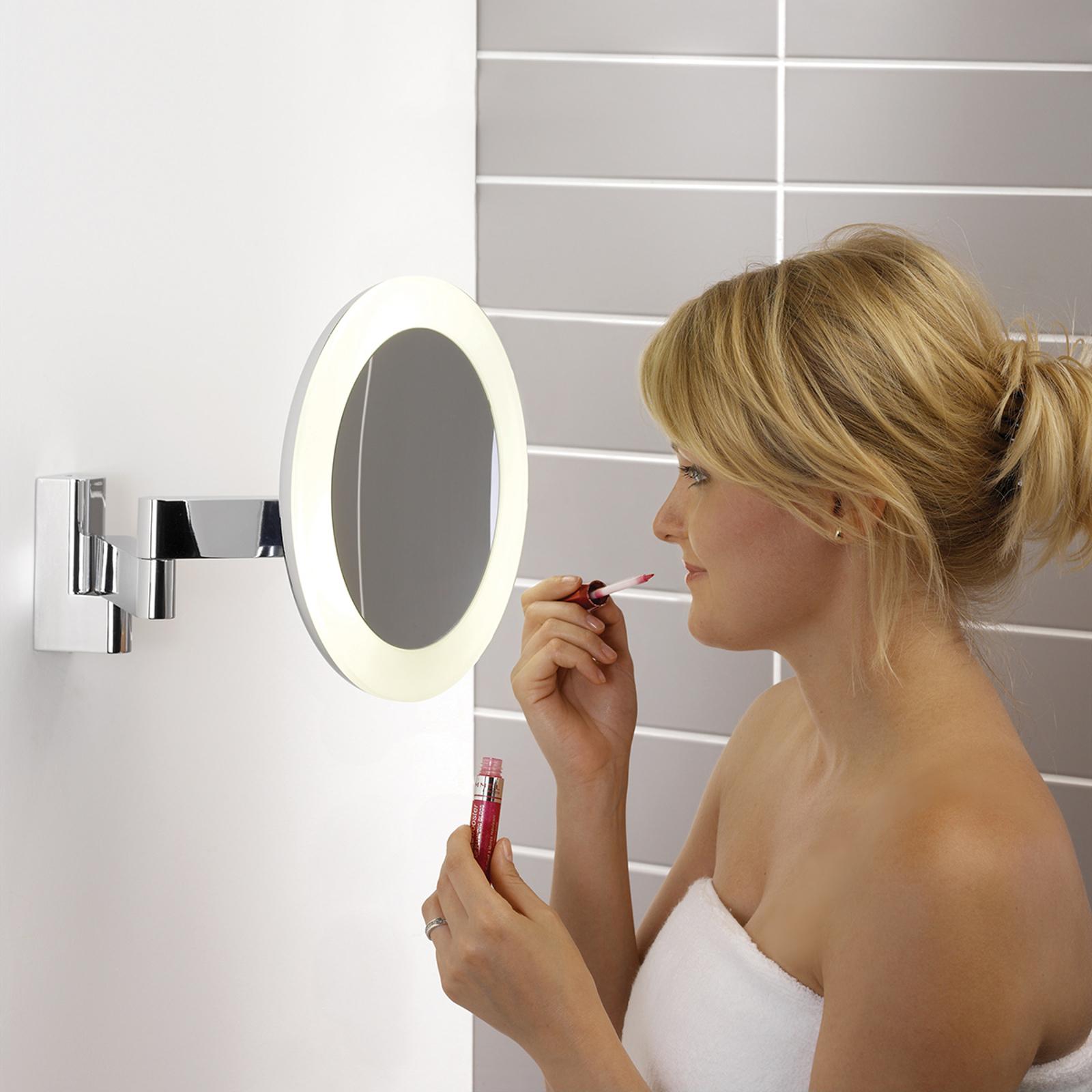 Astro Niimi Round kosmetické zrcátko LED
