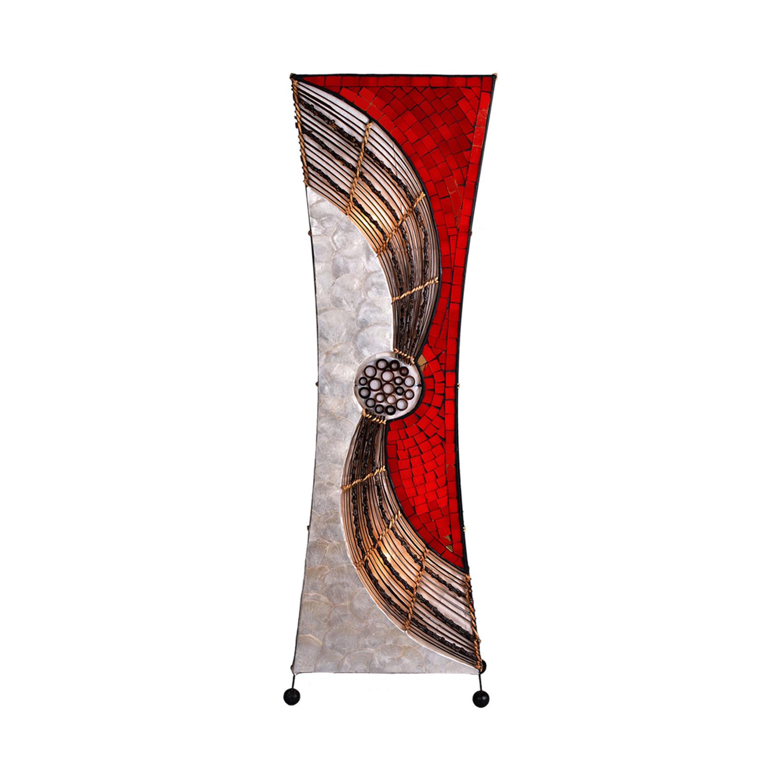 Getailleerde vloerlamp Alisa, 100 cm