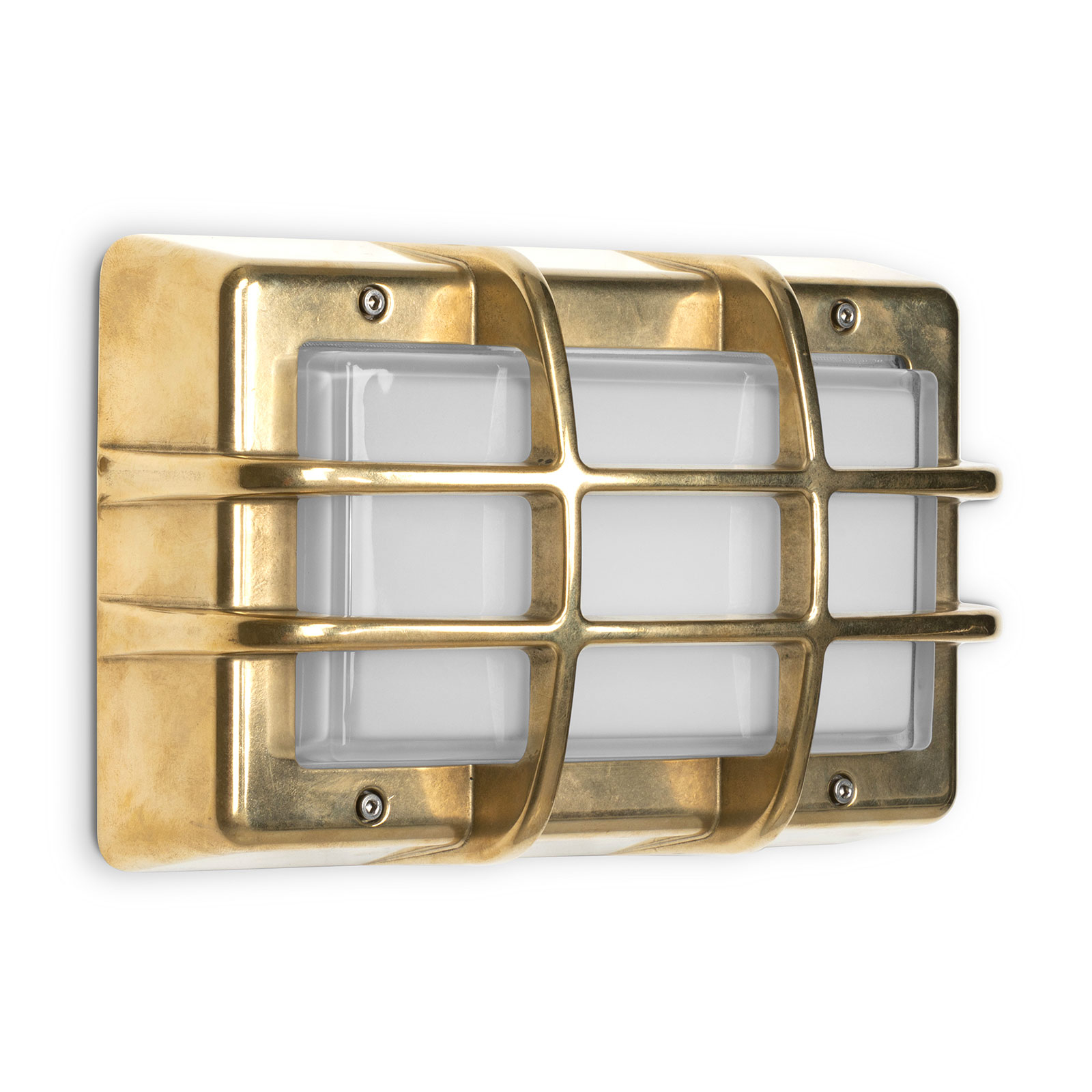 Applique d'ext. LED Bliz Marine, 3000K, laiton