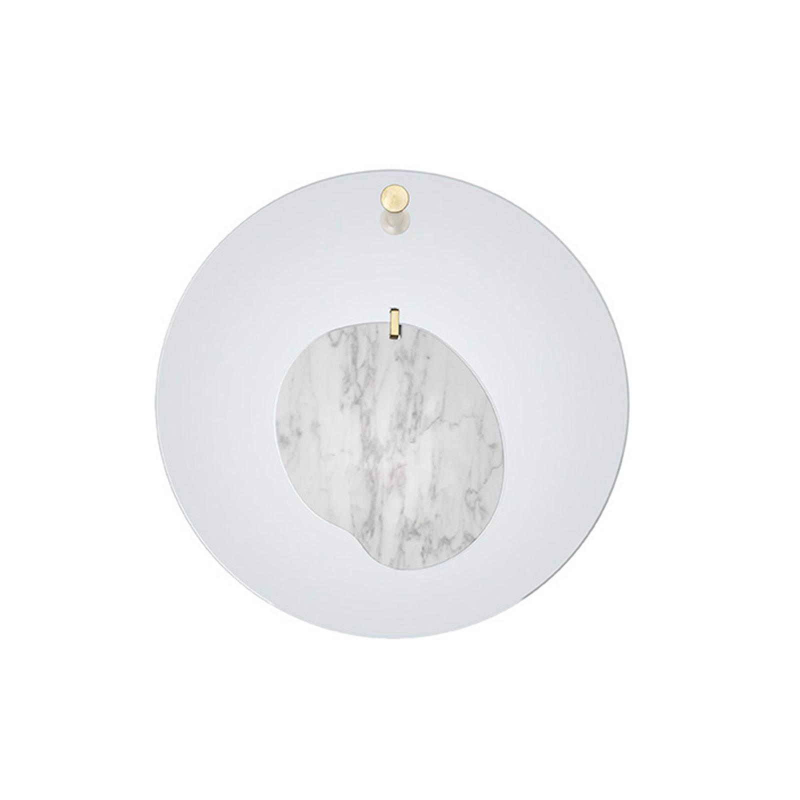 Foscarini Gioia LED-Wandleuchte, Ø 40cm, hellblau