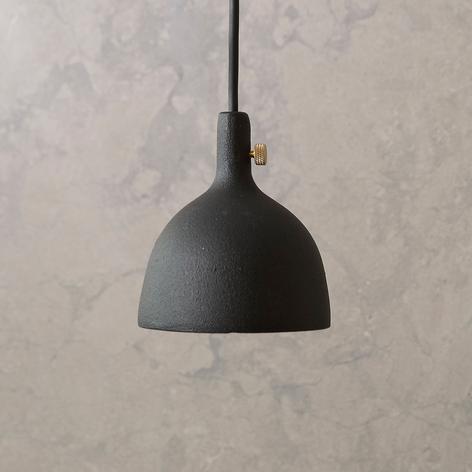 Menu Cast lámpara colgante LED en negro, shape 2