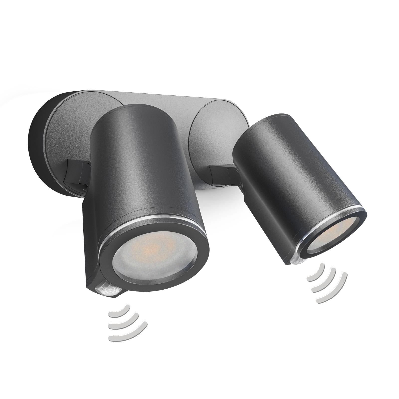 STEINEL Spot Duo Sensor spot LED à 2 lampes