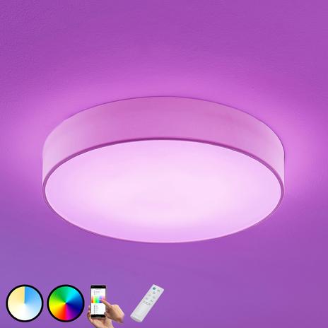 Lampa sufitowa LED RGB Ajai, WiZ, 60cm