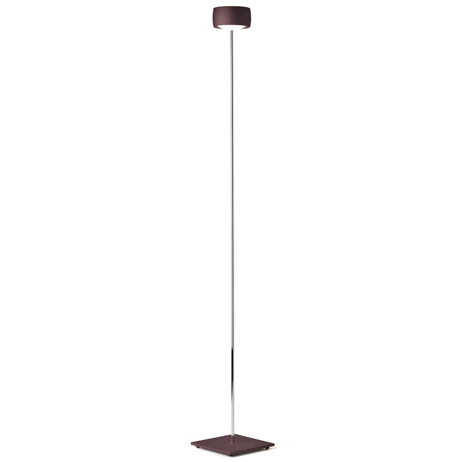 LED gulvlampe Grace med bevægelseskontrol espresso