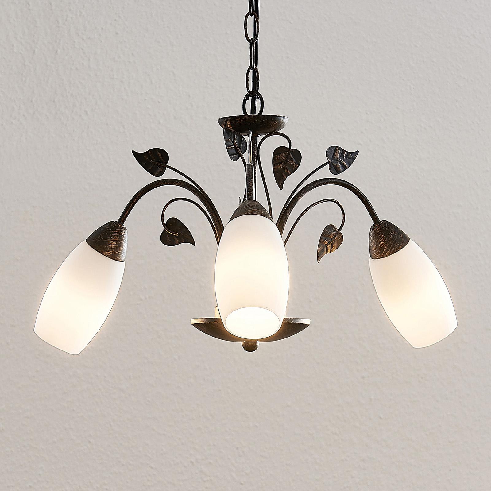 Lindby Isalie LED-riippuvalaisin, 3-lamppuinen