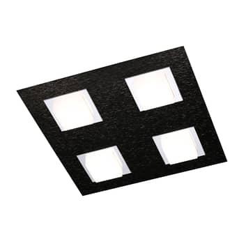 GROSSMANN Basic taklampa 4 lampor svart