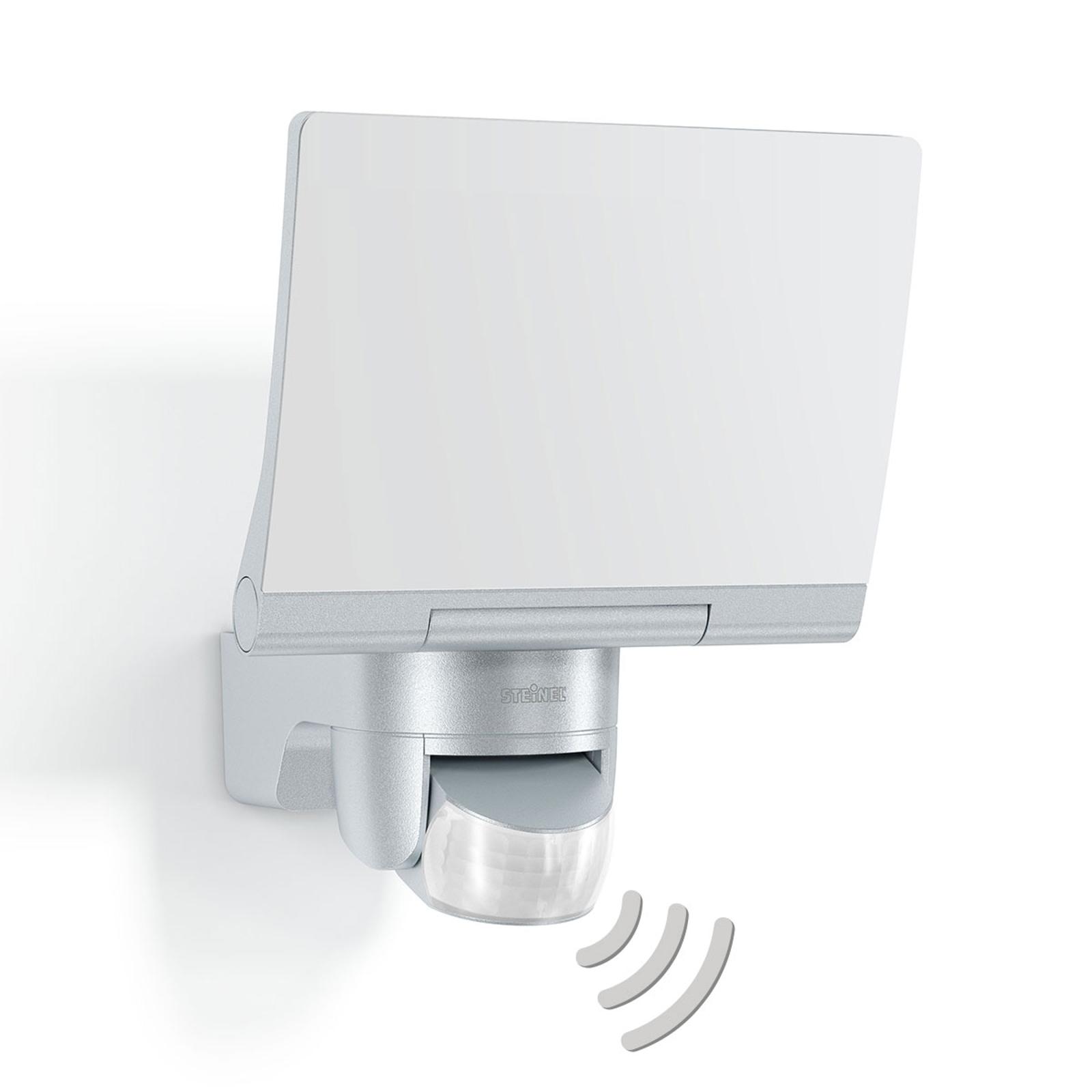 STEINEL XLED Home 2 utomhusspot med sensor, silver
