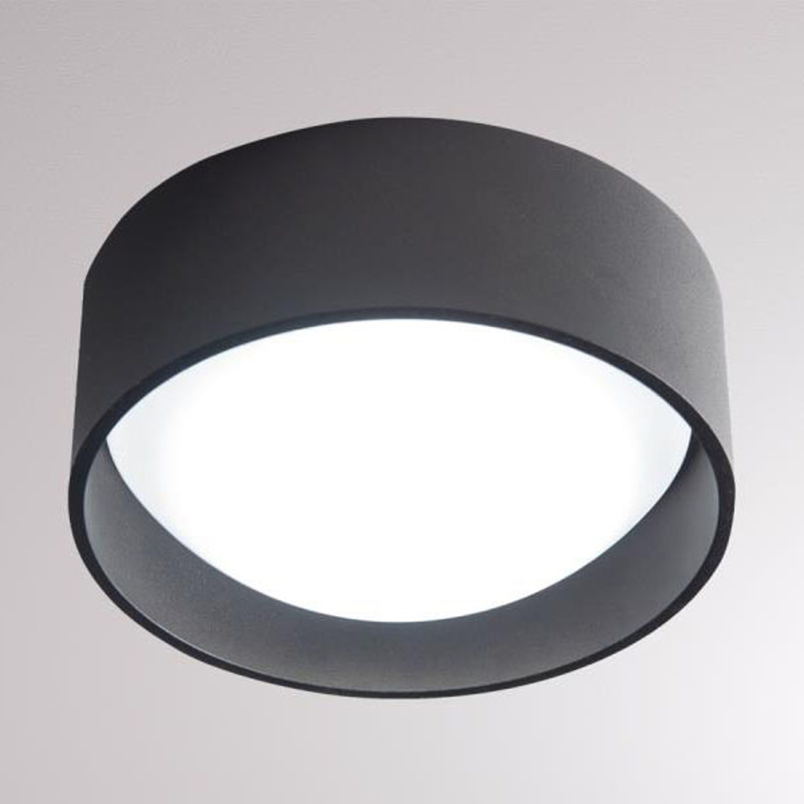 LOUM Yura plafonnier LED noir