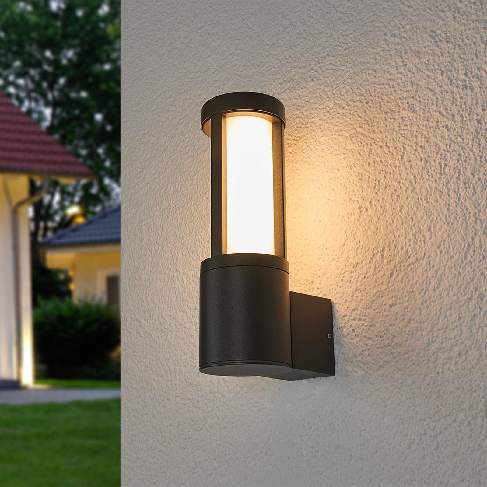 Applique d'extérieur LED gris foncé Sidny