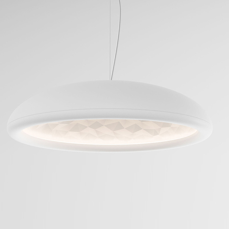 Rotaliana Febo H1 sospensione LED bianco satinato