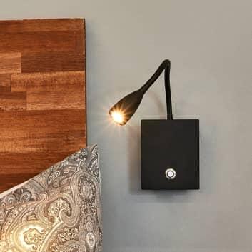 Lámpara pared LED Torin brazo flex., regulable