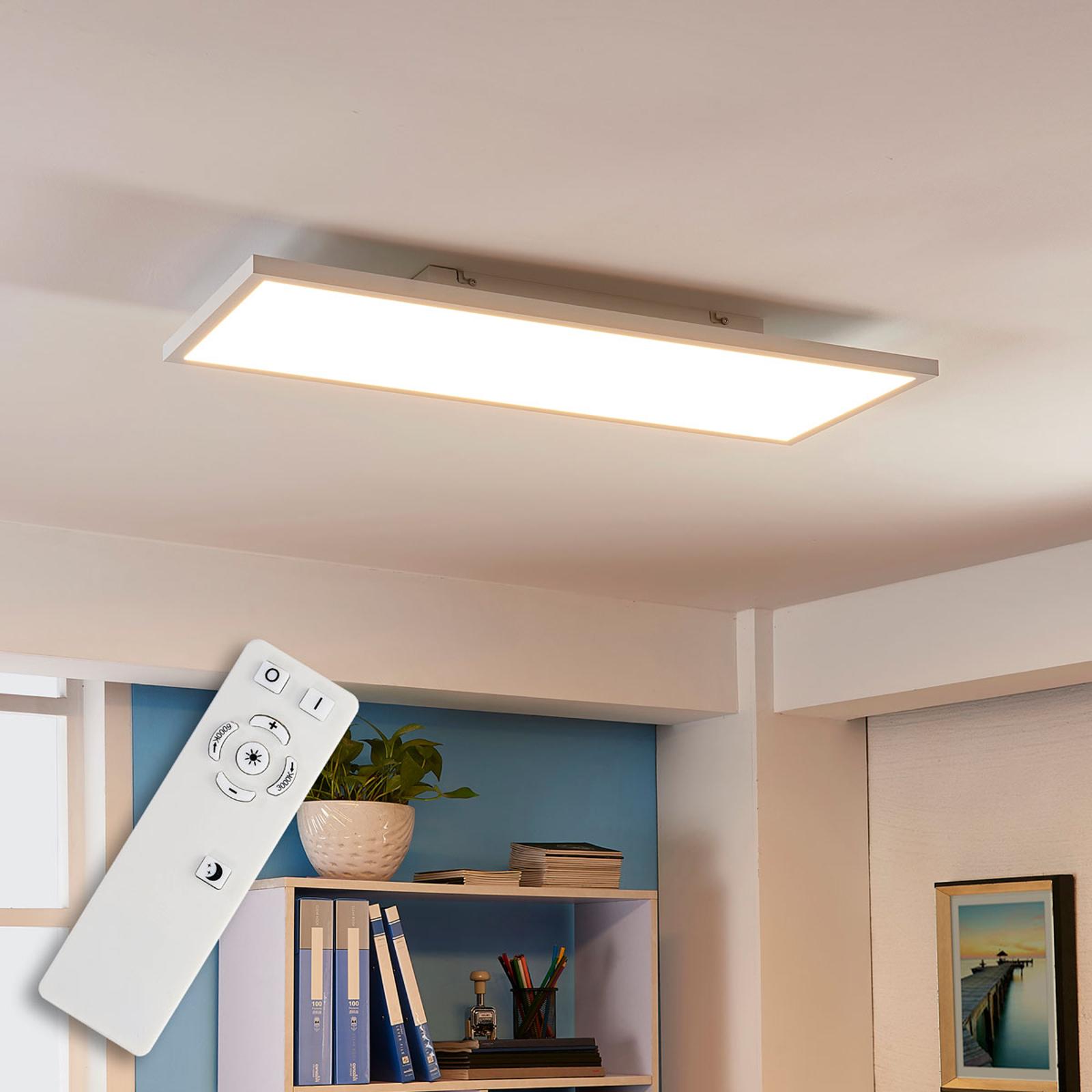Arcchio Philia panel LED, CCT, 80 cm x 29,5 cm