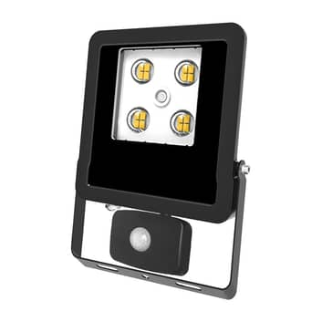 EVN Panthera spot extérieur LED capteur IP44 3000K